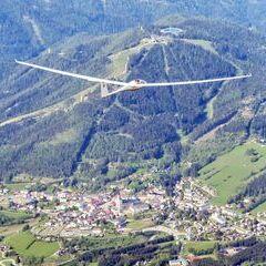 Flugwegposition um 14:54:44: Aufgenommen in der Nähe von Gußwerk, Österreich in 2661 Meter