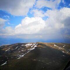 Flugwegposition um 14:31:27: Aufgenommen in der Nähe von Gemeinde Klein St. Paul, Österreich in 2068 Meter