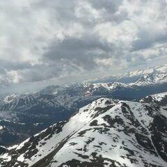 Flugwegposition um 12:14:18: Aufgenommen in der Nähe von Gemeinde Deutsch-Griffen, Österreich in 2451 Meter