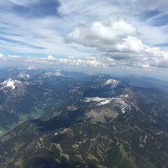 Flugwegposition um 12:27:52: Aufgenommen in der Nähe von Gaishorn am See, Österreich in 3028 Meter
