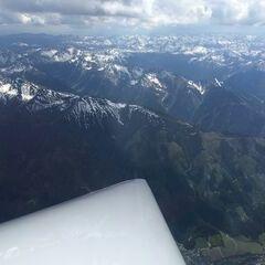 Flugwegposition um 13:10:58: Aufgenommen in der Nähe von Rottenmann, Österreich in 3328 Meter