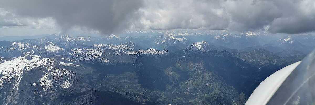 Flugwegposition um 10:51:08: Aufgenommen in der Nähe von Gemeinde Wildalpen, 8924, Österreich in 2857 Meter