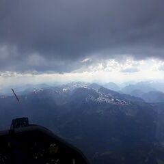 Flugwegposition um 14:51:48: Aufgenommen in der Nähe von Gußwerk, Österreich in 2415 Meter