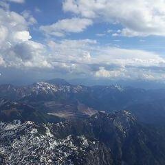 Flugwegposition um 15:16:11: Aufgenommen in der Nähe von Eisenerz, Österreich in 2732 Meter