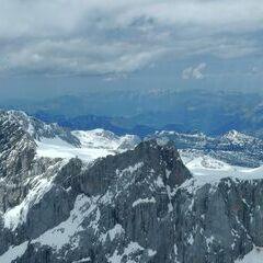Verortung via Georeferenzierung der Kamera: Aufgenommen in der Nähe von Gemeinde Ramsau am Dachstein, 8972, Österreich in 3200 Meter