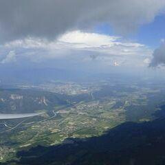 Flugwegposition um 12:28:18: Aufgenommen in der Nähe von Municipality of Kranjska Gora, Slowenien in 2110 Meter