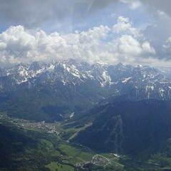 Flugwegposition um 12:28:08: Aufgenommen in der Nähe von Municipality of Kranjska Gora, Slowenien in 2122 Meter