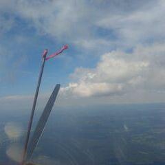 Flugwegposition um 11:06:19: Aufgenommen in der Nähe von Aigen-Schlägl, Österreich in 2054 Meter