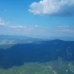 Flugwegposition um 15:37:34: Aufgenommen in der Nähe von Okres Hodonín, Tschechien in 1176 Meter