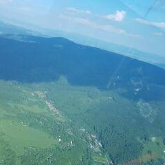 Flugwegposition um 15:37:32: Aufgenommen in der Nähe von Okres Hodonín, Tschechien in 1164 Meter
