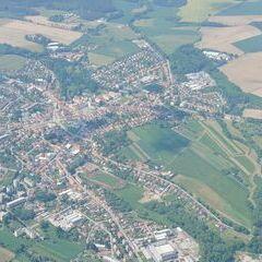 Flugwegposition um 12:40:29: Aufgenommen in der Nähe von Okres Pelhřimov, Tschechien in 1789 Meter