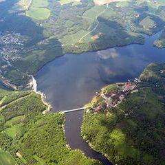 Flugwegposition um 10:24:30: Aufgenommen in der Nähe von Okres Znojmo, Tschechien in 1725 Meter