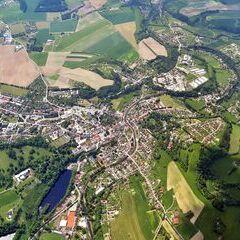 Flugwegposition um 12:32:49: Aufgenommen in der Nähe von Okres Ústí nad Orlicí, Tschechien in 2236 Meter