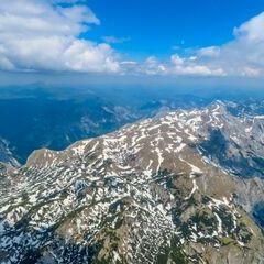 Flugwegposition um 11:25:17: Aufgenommen in der Nähe von Gemeinde Vordernberg, 8794, Österreich in 2772 Meter