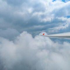 Flugwegposition um 12:19:03: Aufgenommen in der Nähe von Gemeinde Krieglach, Krieglach, Österreich in 2517 Meter