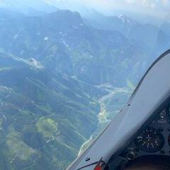 Flugwegposition um 14:46:08: Aufgenommen in der Nähe von Radmer, 8795, Österreich in 2699 Meter