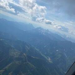 Flugwegposition um 14:46:12: Aufgenommen in der Nähe von Radmer, 8795, Österreich in 2701 Meter
