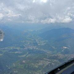Flugwegposition um 10:27:44: Aufgenommen in der Nähe von Bad Ischl, Österreich in 2529 Meter