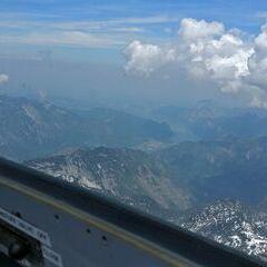 Flugwegposition um 10:27:33: Aufgenommen in der Nähe von Bad Ischl, Österreich in 2543 Meter