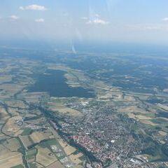 Flugwegposition um 13:23:57: Aufgenommen in der Nähe von Altenmarkt bei Fürstenfeld, Österreich in 1769 Meter