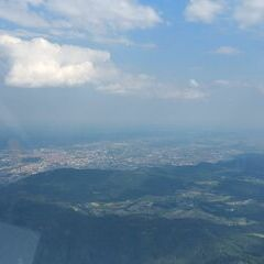 Flugwegposition um 14:52:13: Aufgenommen in der Nähe von Gratwein, Gemeinde Gratwein, Österreich in 1793 Meter