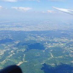 Flugwegposition um 13:19:40: Aufgenommen in der Nähe von Općina Lepoglava, Kroatien in 1886 Meter