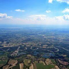 Flugwegposition um 12:46:18: Aufgenommen in der Nähe von Kreis Letenye, Ungarn in 1718 Meter