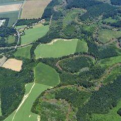 Flugwegposition um 10:41:11: Aufgenommen in der Nähe von Kreis Szombathely, Ungarn in 1344 Meter