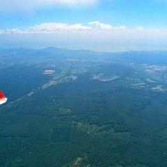 Flugwegposition um 11:22:13: Aufgenommen in der Nähe von Kreis Sümeg, Ungarn in 1985 Meter