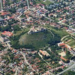 Flugwegposition um 11:26:35: Aufgenommen in der Nähe von Kreis Sümeg, Ungarn in 1919 Meter