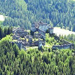 Flugwegposition um 11:52:25: Aufgenommen in der Nähe von Teufenbach, Österreich in 1277 Meter