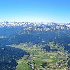 Flugwegposition um 12:55:11: Aufgenommen in der Nähe von Gemeinde St. Andrä im Lungau, St. Andrä im Lungau, Österreich in 2860 Meter