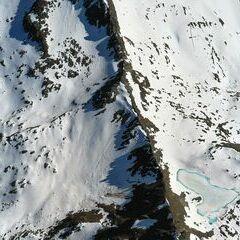 Flugwegposition um 14:50:16: Aufgenommen in der Nähe von Gemeinde Krimml, Österreich in 3072 Meter