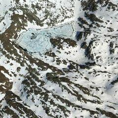 Flugwegposition um 14:50:20: Aufgenommen in der Nähe von Gemeinde Krimml, Österreich in 3072 Meter