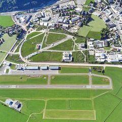 Flugwegposition um 16:11:24: Aufgenommen in der Nähe von Gemeinde Zell am See, 5700 Zell am See, Österreich in 1576 Meter