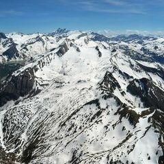 Flugwegposition um 13:08:04: Aufgenommen in der Nähe von Gemeinde Piesendorf, 5721 Piesendorf, Österreich in 3226 Meter