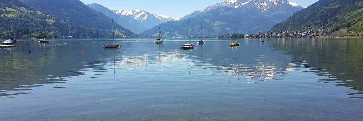 Verortung via Georeferenzierung der Kamera: Aufgenommen in der Nähe von Gemeinde Zell am See, 5700 Zell am See, Österreich in 800 Meter