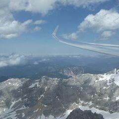 Verortung via Georeferenzierung der Kamera: Aufgenommen in der Nähe von Gemeinde Gosau, Österreich in 2869 Meter