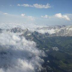 Verortung via Georeferenzierung der Kamera: Aufgenommen in der Nähe von Gemeinde St. Martin am Tennengebirge, Österreich in 2810 Meter