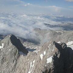 Flugwegposition um 16:34:53: Aufgenommen in der Nähe von Gemeinde Ramsau am Dachstein, 8972, Österreich in 2946 Meter