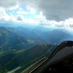 Flugwegposition um 16:10:48: Aufgenommen in der Nähe von Veitsch, St. Barbara im Mürztal, Österreich in 1726 Meter