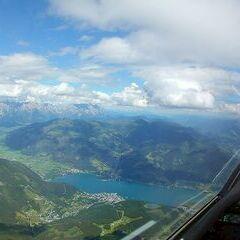 Flugwegposition um 13:28:20: Aufgenommen in der Nähe von Gemeinde St. Johann im Pongau, St. Johann im Pongau, Österreich in 2444 Meter