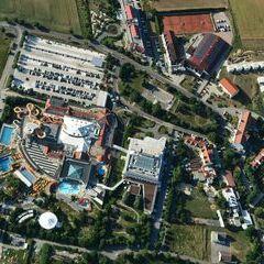 Flugwegposition um 15:59:42: Aufgenommen in der Nähe von Lutzmannsburg, 7361, Österreich in 992 Meter