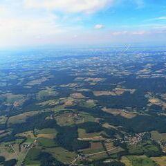 Flugwegposition um 15:26:58: Aufgenommen in der Nähe von Gemeinde Brand-Laaben, Österreich in 1897 Meter