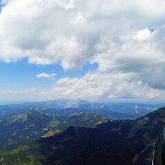 Flugwegposition um 10:30:52: Aufgenommen in der Nähe von Veitsch, St. Barbara im Mürztal, Österreich in 2075 Meter