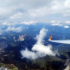 Flugwegposition um 10:56:45: Aufgenommen in der Nähe von Tragöß-Sankt Katharein, Österreich in 2783 Meter