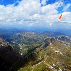 Flugwegposition um 12:13:15: Aufgenommen in der Nähe von Gemeinde Weißpriach, 5573, Österreich in 2910 Meter