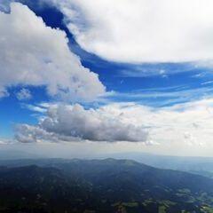 Flugwegposition um 14:58:59: Aufgenommen in der Nähe von Gemeinde St. Margarethen bei Knittelfeld, Österreich in 3091 Meter