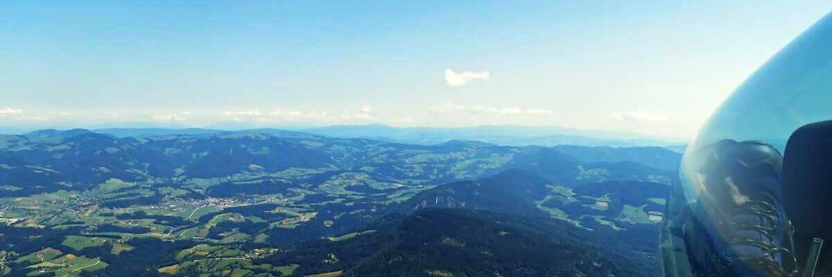 Flugwegposition um 09:09:31: Aufgenommen in der Nähe von Gemeinde St. Radegund bei Graz, Österreich in 1808 Meter