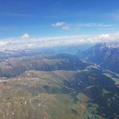 Verortung via Georeferenzierung der Kamera: Aufgenommen in der Nähe von Gemeinde Außervillgraten, Österreich in 3700 Meter